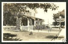 Cedar City rppc El Escalante Hotel UT Utah ca 1936