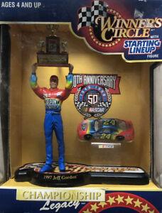 Vintage JEFF GORDON NASCAR 1997 Winners Circle Starting Lineup Champion Legacy