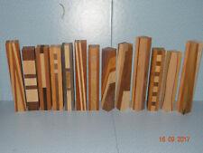 13 Laminated Pen Blanks, Drechselholz, Kugelschreiberrohlinge Bastelholz