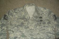 Military ABU Shirt 44R Man's Tiger Stripes Airman Battle Uniform USAF #304