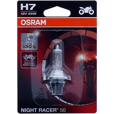 H7 OSRAM Night Racer +50 - mehr Performance Halogen Scheinwerfer Lampe Moto NEU