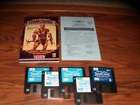 "Advanced Dungeons & Dragons Dark Sun Shattered Lands IBM PC 3.5"" disk tested"