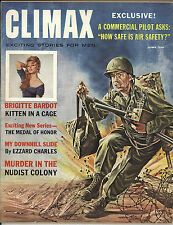 Climax (1961) June Nudist Colony Brigitte Bardot Sex Kitten Medal of Honor VG/FN