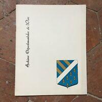 Catálogo Inauguración Edificio Las Archivos Departamento L De Oise Roneo 1961