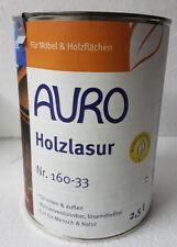 AURO 2,5l Holzlasur Nr.160-33  Dunkel Rot  L /24,80 €