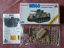 ESCI MAQUETTE ECH 1/2 : M163 ANTIAIRCRAFT CHAR DCA - EN BOITE D'ORIGINE