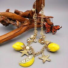 Kate Spade Lemon Tart Charm Necklace