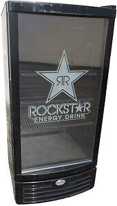 IDW G-10 Beverage Cooler Glass Door Display Refrigerator Merchandiser Rockstar
