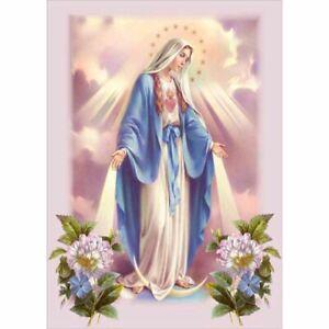 Vierge Mary Religion Perceuse Diamant Peintures Croix Stich Accessoires Déco