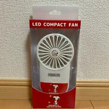 Compact fan with Snoopy LED light White / red