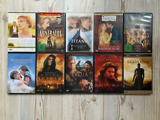 DVD-Paket Liebe Vergangenheit Geschichte Action Klassiker 10 Filme