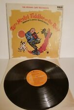 FIDDLER ON THE ROOF ORIG BROADWAY CAST STEREO LP LSO-1093 ZERO MOSTEL SHRINK ON