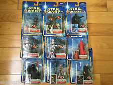 Star Wars Episode 2 Attack of the Clones Collection Action Figure Set of 9