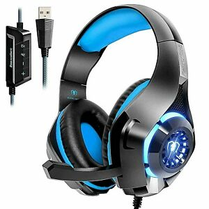 Beexcellent GM-110 7.1 Surround Sound Gaming Headset - Blue