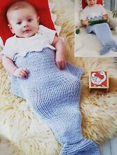 Baby Chunky Sleeping Bag from Birth to 7 years  fish tail/mermaid
