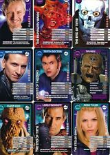 Doctor Who Monster Invasion TCG TV Cards 101 - 150 Select From List