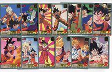 Lot cartes Power Level - Super Battle Part 15 - Dragon Ball GT DBZ Bandai