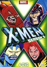 X-Men xmen x men Temporada 3/ Set 4x DVD marvel orginales REGIÓN 2