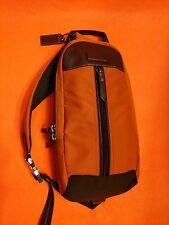 COACH Varick Sling Messenger Bag Backpack Utility Crossbody ORANGE F70692 $198