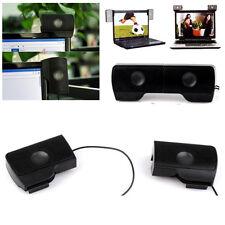 USB Mini Speaker Stereo Music Player For Notebook Laptop PC Computer Desktop MP3