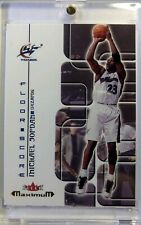 2002 Fleer Maximum Floor Score Michael Jordan #12, Insert, Washington Wizards