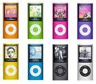 Apple iPod Nano 4th 8GB 16GB MP3 Player Blue Silver Black Pink Orange Green Red