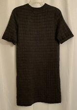 Women's Small Banana Republic Gray Career Or Casual Dress Cotton Blend Free Ship