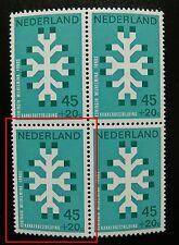 Plaatfout Mast 929PM1 Postfris in BLOK van 4 CW € 30