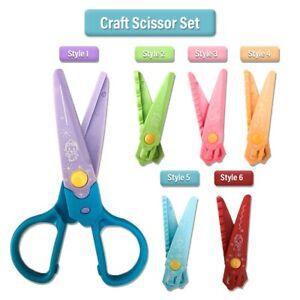 Children Safety Scissors Kids Art Craft Cutting Paper Card making School Childs