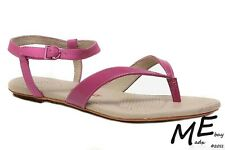 New Tsubo BELLAH Leather Women Sandals Size 8 Dahlia