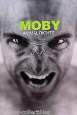 Moby 1997 Animal Rights Original Promo Poster