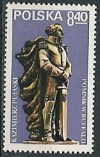 Poland stamps MNH Pulaski memorial  (Mi. 2649)