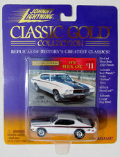 JOHNNY LIGHTNING R3 CLASSIC GOLD COLLECTION 1970 BUICK GSX #11