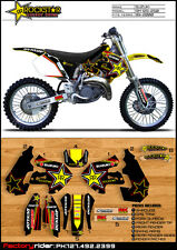 Team Rockstar Suzuki Motocross Graphics RM 125-250 1999-2000 Dirt Bike Graphics