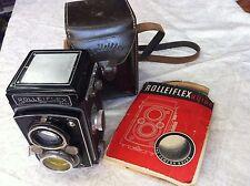 Rolleiflex Compur twin lens camera