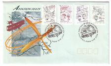 "1994 FDC Australia. Aviation Feats. Aeroplane PictPMK ""STANWELL PARK"""