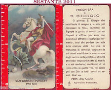 3043 SANTINO HOLY CARD S. SAN GIORGIO PREGATE PER NOI C.G.M. 564 C. G. M.