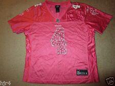 Minnesota Vikings #4 NFL Reebok Pink Jersey Womens XL