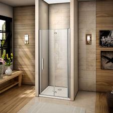 70x195cm Cabine de douche accès d'angle Porte de douche pivotante pliante