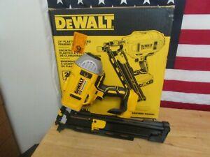 Dewalt DCN21PL 20v Brushless Cordless Plastic Collated Framing Nailer 476
