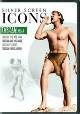 Silver Screen Icons Johnny Weissmuller Tarzan 1 DVD