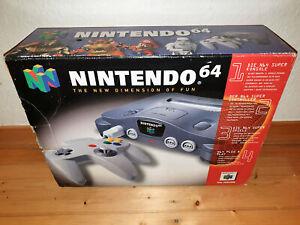 ## Nintendo 64 / N64 Konsole in Originalverpackung - TOP ##