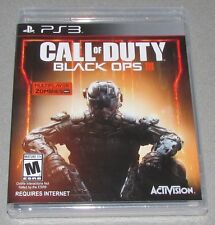 Call of Duty Black Ops III for Playstation 3 Brand New! Factory Sealed!
