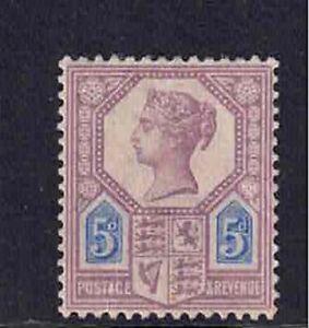 QV 1887-92 SG 207a Mounted Mint