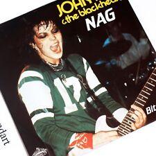 JOAN JETT in NEW YORK JETS JERSEY NAG 7 INCH VINYL 1982 VERY RARE