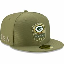 New Era 59Fifty Cap - Salute to Service Green Bay Packers -