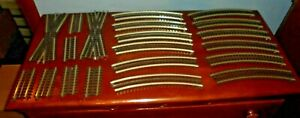 LOT OF ATLAS O  3 RAIL TRACK 20 PIECES  SEE DESCRIPITION