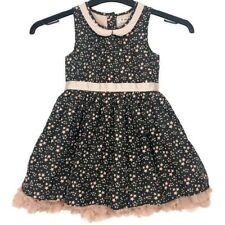 Girls NEXT Dress Age 3-4 Years A-Line With A Star Design Party Sleeveless