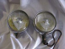 2 Vintage Auto Feux de Brouillard français faite par Marchal.