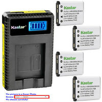 Kastar LCD Charger Battery for NP-45 NP-45A NP-45B NP-45S Fujifilm FinePix XP60